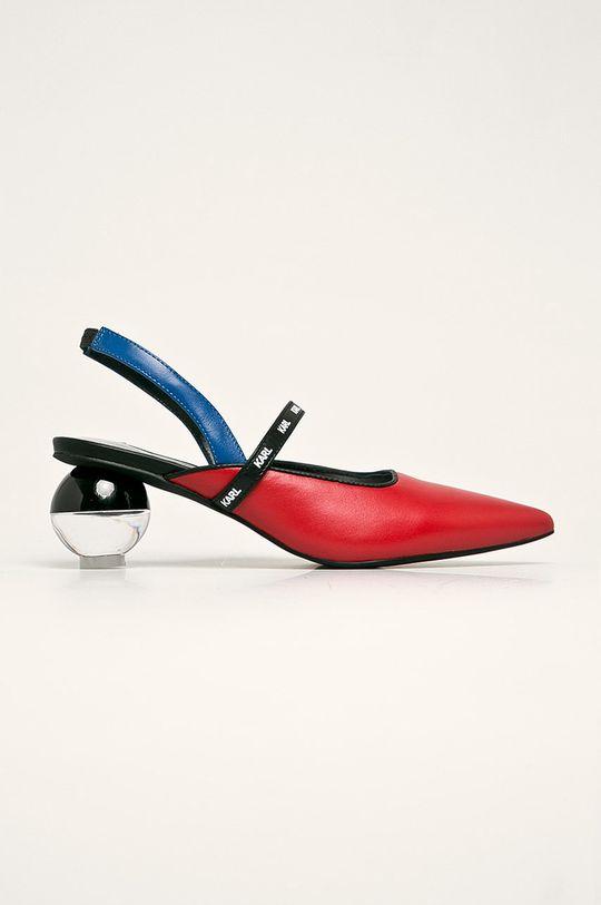 rosu Karl Lagerfeld - Sandale De femei