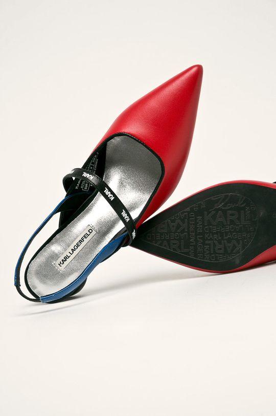 rosu Karl Lagerfeld - Sandale
