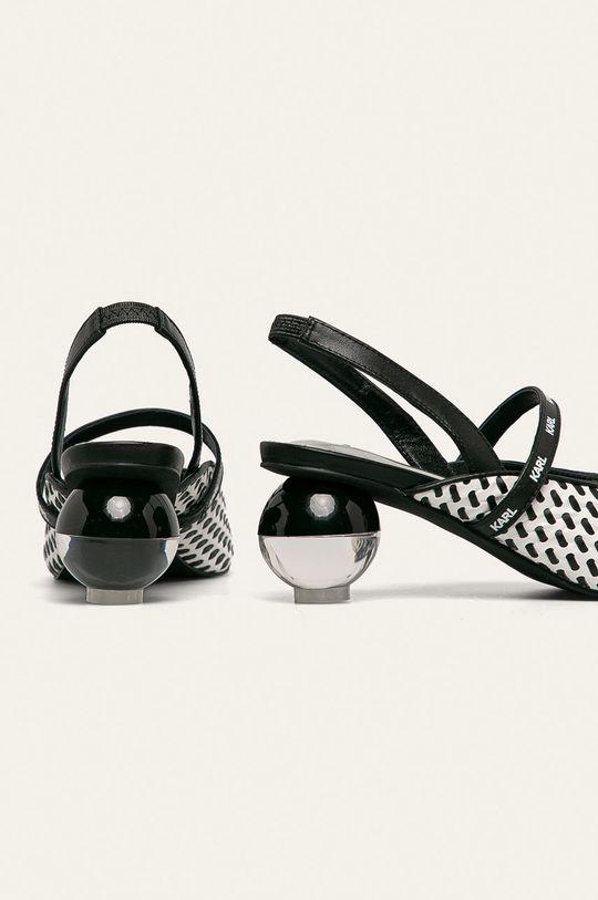 Karl Lagerfeld - Sandale Gamba: Material sintetic Interiorul: Piele naturala Talpa: Material sintetic