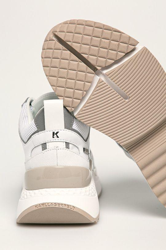 Karl Lagerfeld - Boty Svršek: Textilní materiál, Přírodní kůže Vnitřek: Umělá hmota, Přírodní kůže Podrážka: Umělá hmota