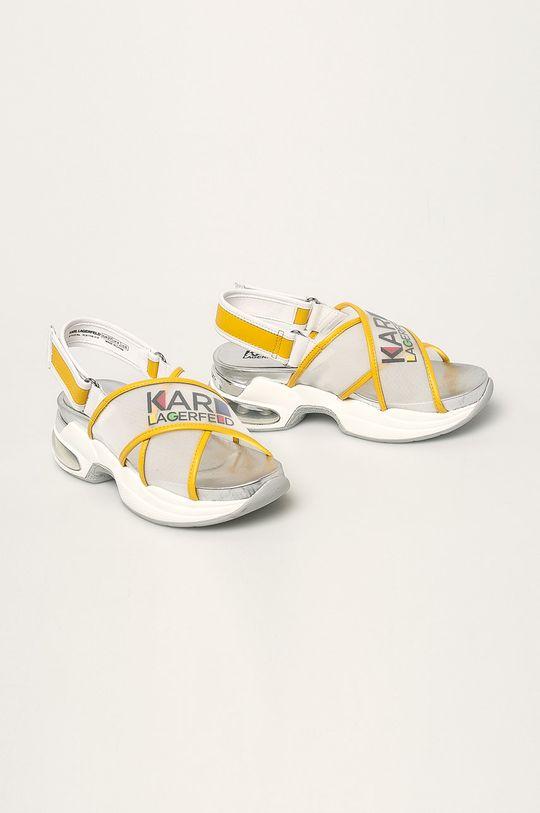 Karl Lagerfeld - Sandały biały