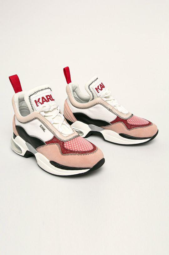 Karl Lagerfeld - Topánky ružová