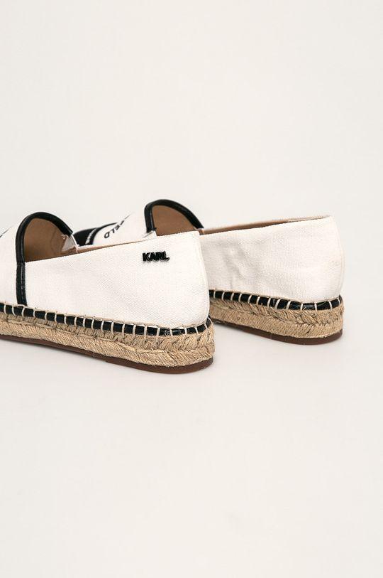 Karl Lagerfeld - Espadrilky  Zvršok: Textil Vnútro: Textil Podrážka: Syntetická látka Vložka: Prírodná koža
