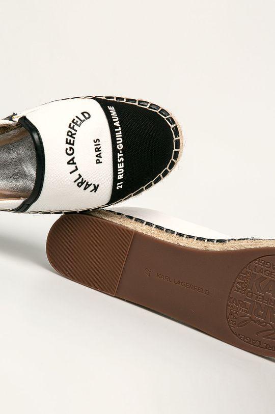 biela Karl Lagerfeld - Espadrilky
