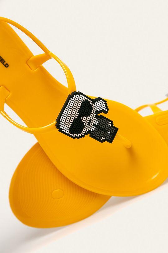 Karl Lagerfeld - Sandały Materiał syntetyczny