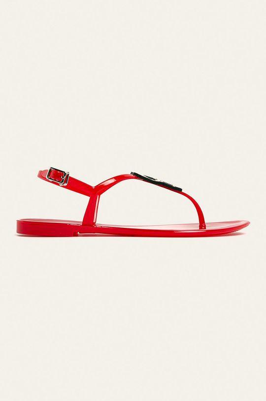 červená Karl Lagerfeld - Sandále Dámsky