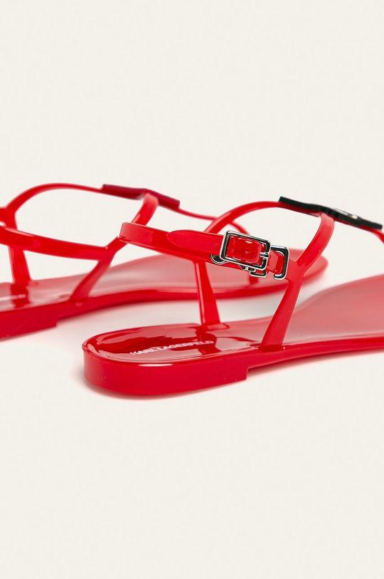 Karl Lagerfeld - Sandále  Syntetická látka