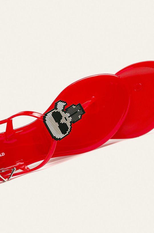 červená Karl Lagerfeld - Sandále