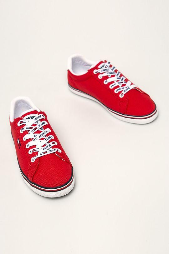 Tommy Jeans - Tenisky červená