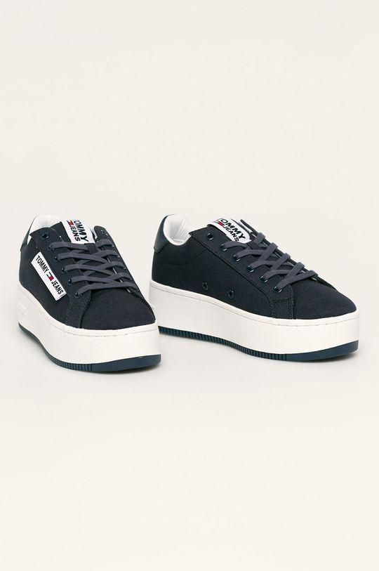 Tommy Jeans - Обувки тъмносин