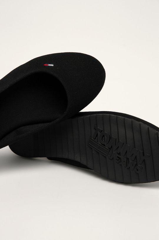 čierna Tommy Jeans - Baleríny