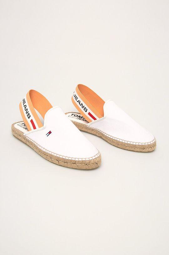 Tommy Jeans - Espadrilky biela