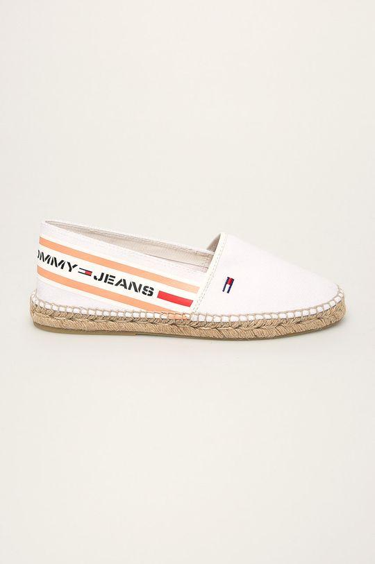 biela Tommy Jeans - Espadrilky Dámsky