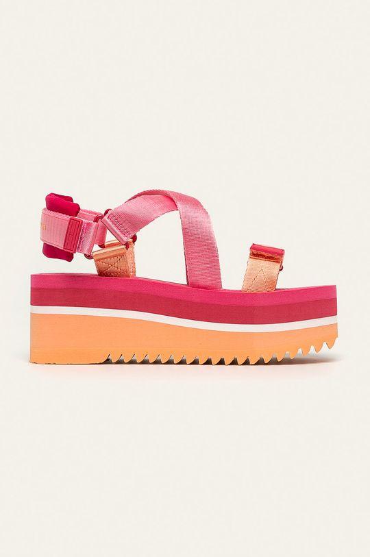 ružová Tommy Jeans - Sandále Dámsky