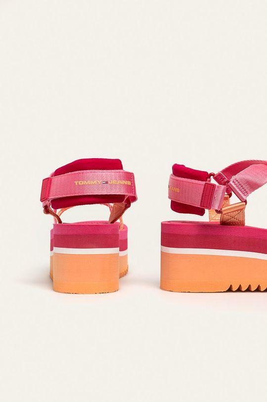 Tommy Jeans - Sandále  Zvršok: Textil Vnútro: Syntetická látka, Textil Podrážka: Syntetická látka