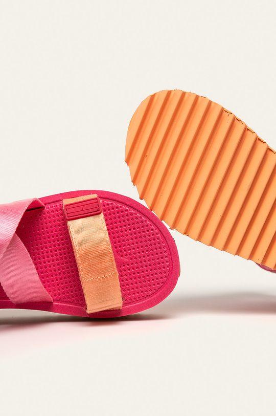 ružová Tommy Jeans - Sandále