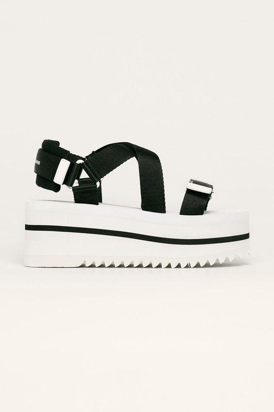 čierna Tommy Jeans - Sandále Dámsky