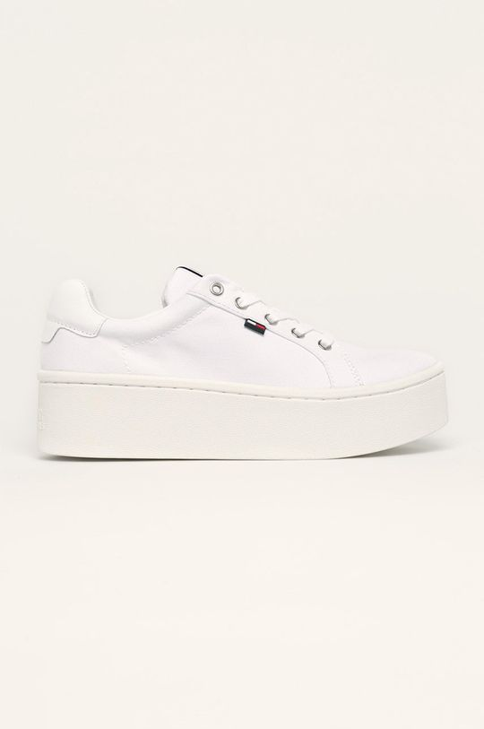 бял Tommy Jeans - Обувки Жіночий