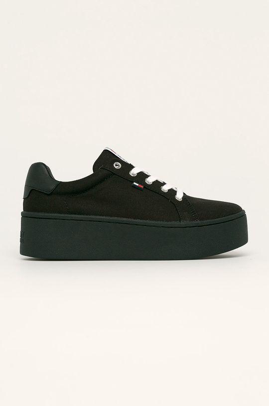 черен Tommy Jeans - Обувки Жіночий