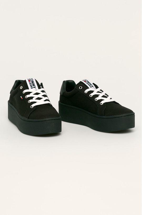 Tommy Jeans - Обувки черен