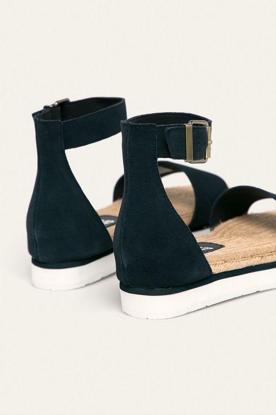 Tommy Jeans - Sandały skórzane Cholewka: Skóra zamszowa, Wnętrze: Materiał tekstylny, Skóra naturalna, Podeszwa: Materiał syntetyczny
