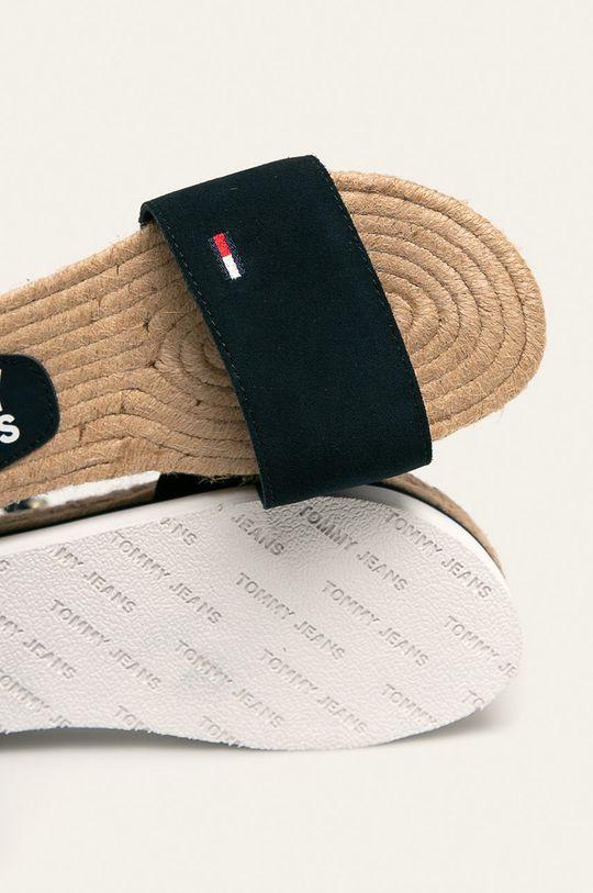Tommy Jeans - Sandały skórzane Damski