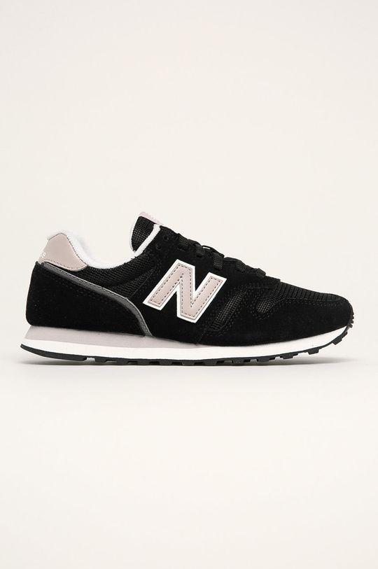 čierna New Balance - Topánky WL373BD2 Dámsky
