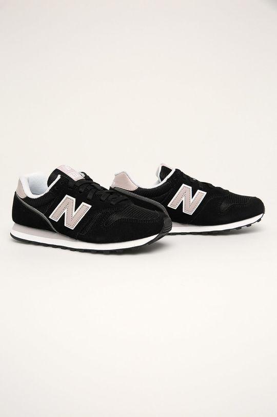 New Balance - Topánky WL373BD2 čierna