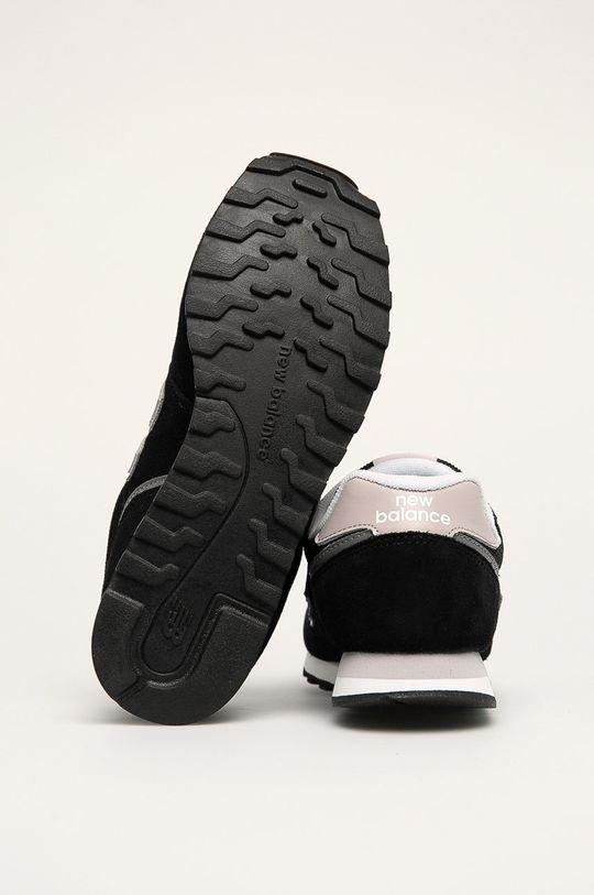 čierna New Balance - Topánky WL373BD2