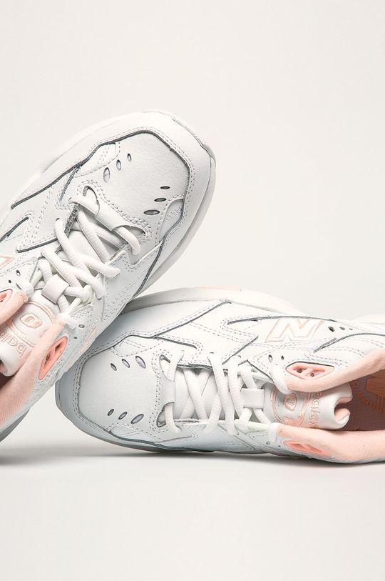 biela New Balance - Topánky WX608WI1