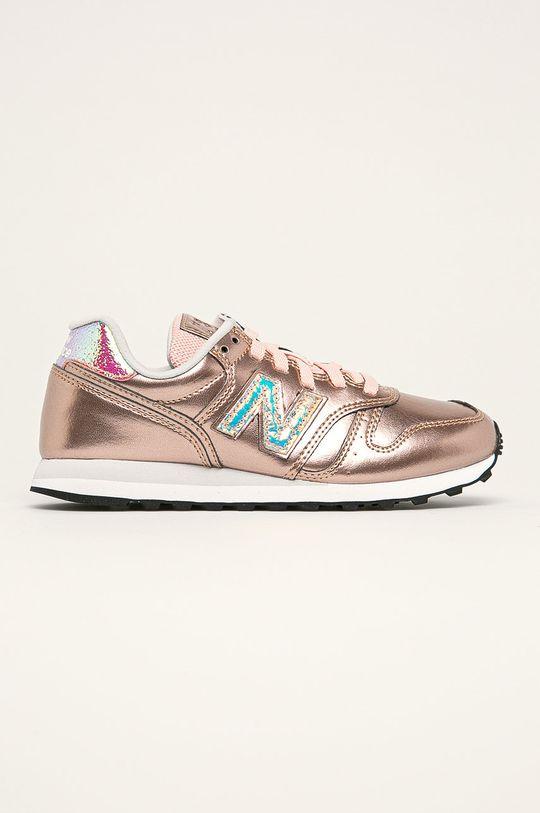 zlatá New Balance - Topánky WL373GA2 Dámsky