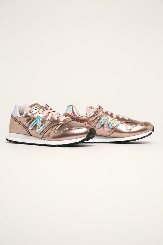 New Balance - Topánky WL373GA2 zlatá