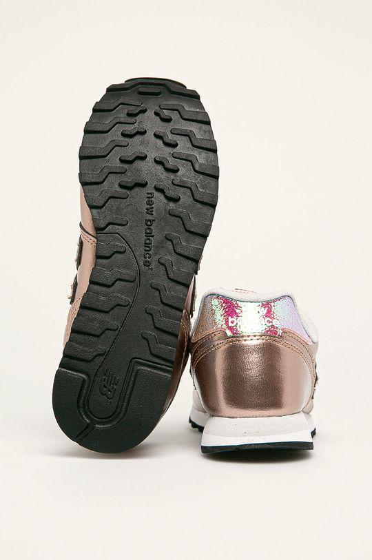 zlatá New Balance - Topánky WL373GA2