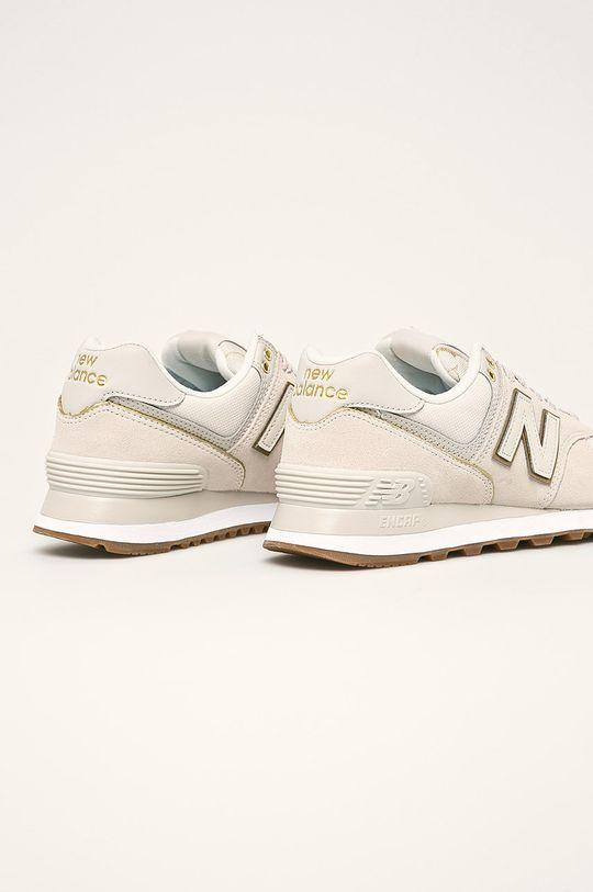 New Balance - Topánky WL574SOA  Textil, Prírodná koža Vnútro: Textil Podrážka: Syntetická látka