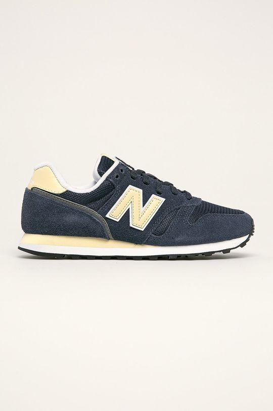tmavomodrá New Balance - Topánky WL373BE2 Dámsky