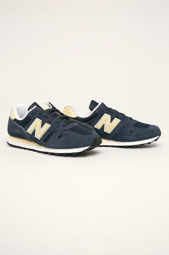 New Balance - Topánky WL373BE2 tmavomodrá