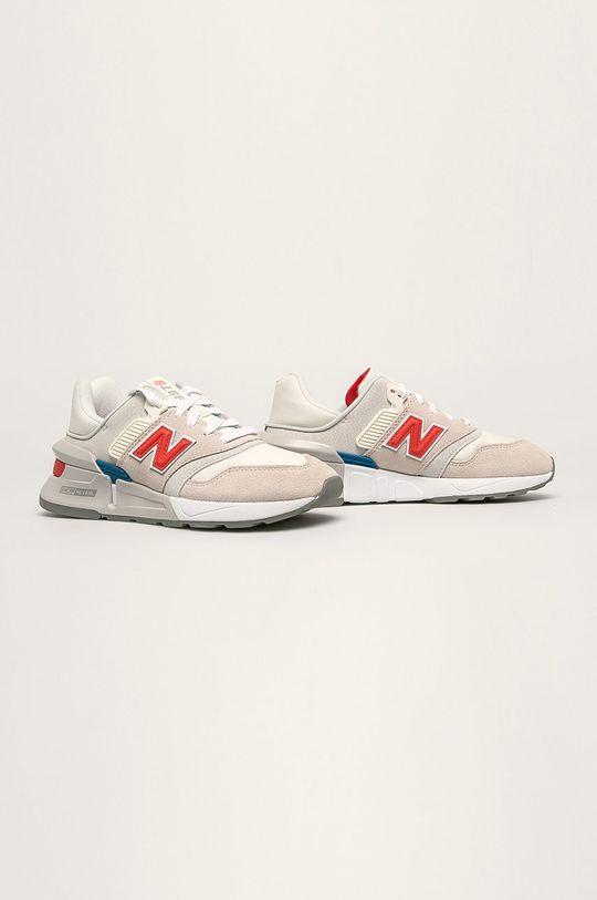New Balance - Topánky WS997BVA krémová