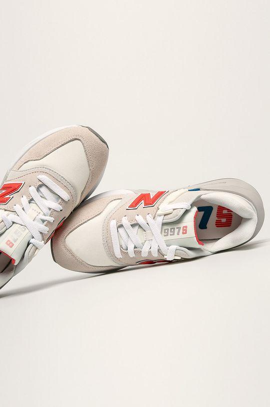 krémová New Balance - Topánky WS997BVA