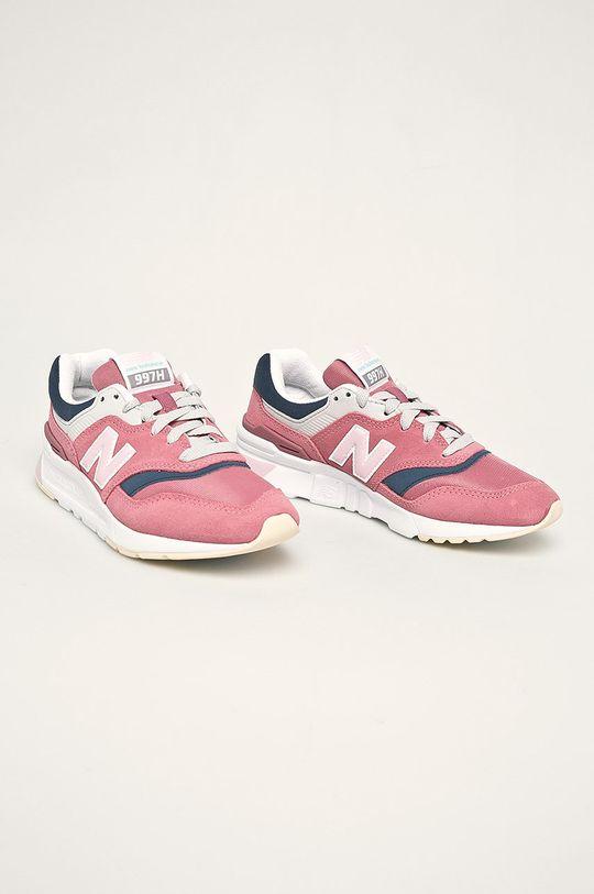 New Balance - Boty CW997HAQ fialovo-růžová