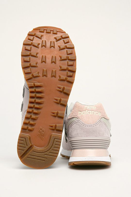levanduľová New Balance - Topánky WL574SAX