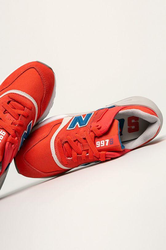 červená New Balance - Topánky WS997BVD