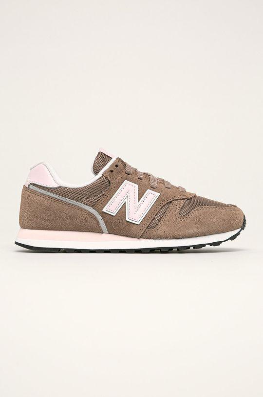 hnedá New Balance - Topánky WL373BB2 Dámsky