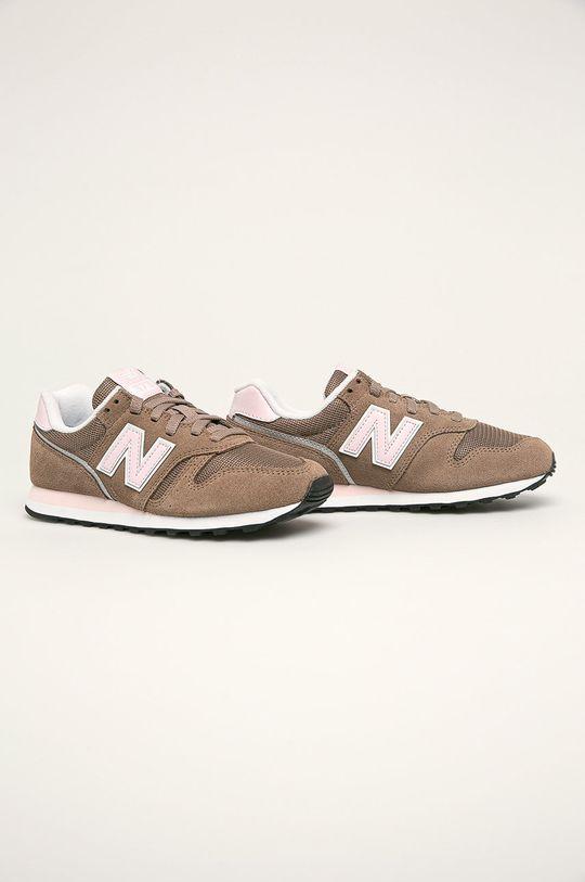 New Balance - Topánky WL373BB2 hnedá