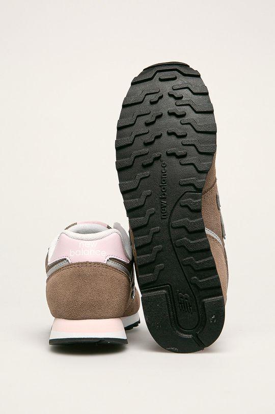 hnedá New Balance - Topánky WL373BB2