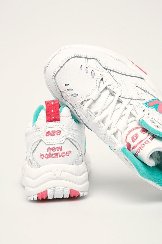 biela New Balance - Topánky WX608WT1