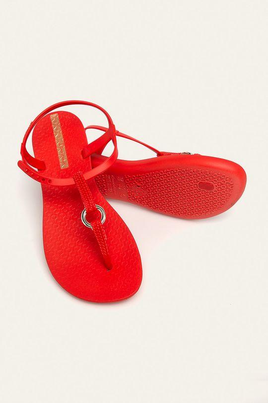 červená Ipanema - Sandály