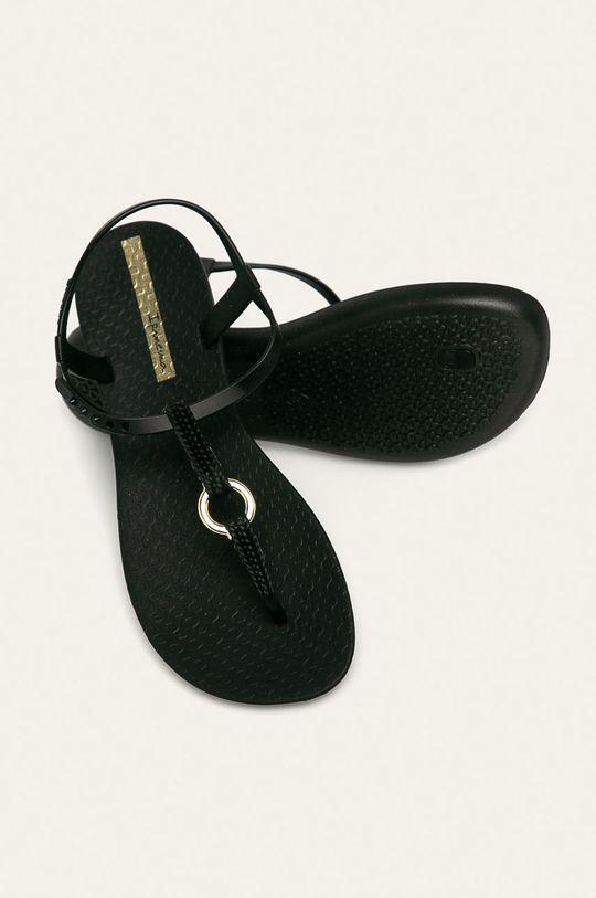 čierna Ipanema - Sandále