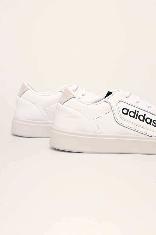 adidas Originals - Kožená obuv Sleek W  Zvršok: Prírodná koža Vnútro: Textil Podrážka: Syntetická látka
