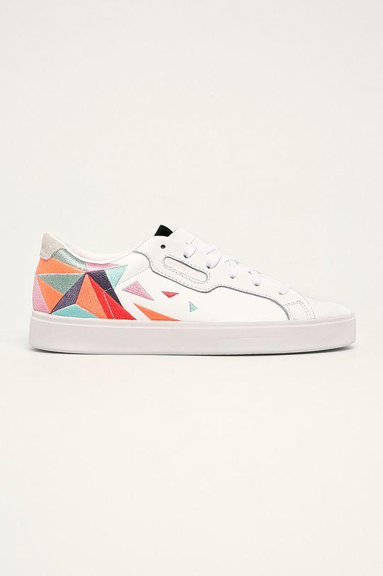 alb adidas Originals - Pantofi Sleek W De femei