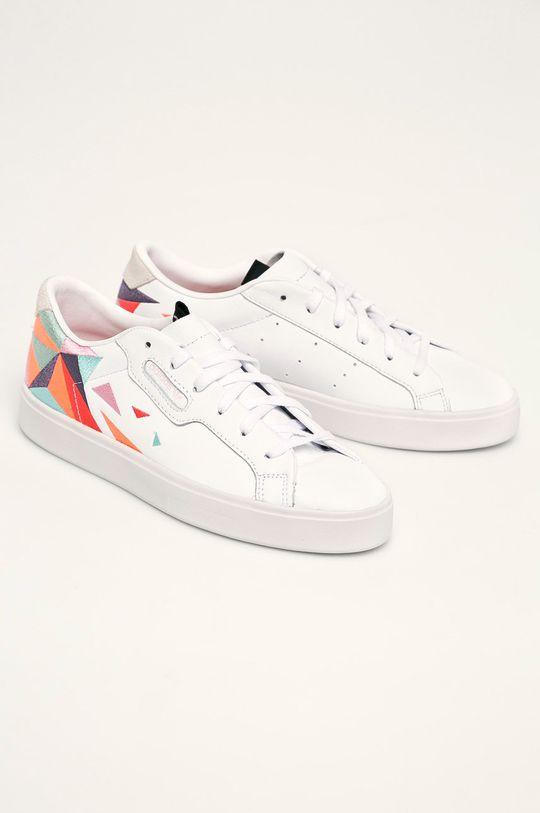 adidas Originals - Pantofi Sleek W alb